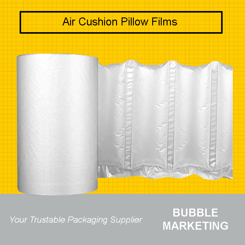 Inflatable Air Cushion Pillow Packaging Film Roll 8x16cm  300met